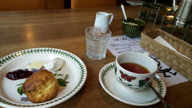 京都で紅茶(北山紅茶館)