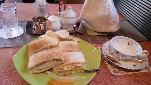 広島で紅茶(星ビルオルゴール・ティーサロン)
